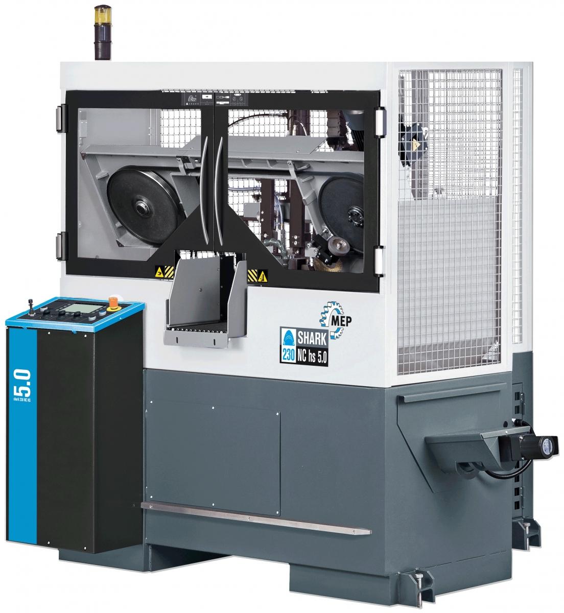 MEP SHARK 230 NC HS 5.0 Zweisäulen-Bandsägevollautomat